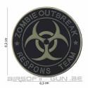 Patch PVC zombie outbreak response team 3D en divers coloris
