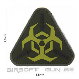 Patch PVC Outbreak response 3D en divers coloris