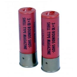 Tokyo Marui cartouche shotgun 30 billes rouge 2 pcs