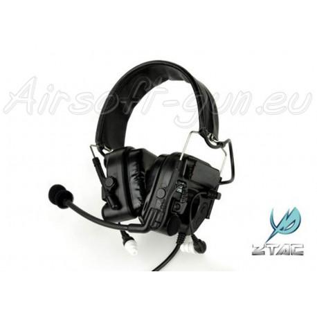 Z tactical casque auditif Comtac 4 en noir