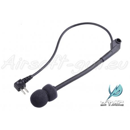 Z tactical micro pour casque auditif Comtac séries